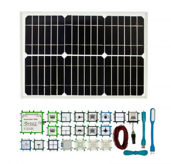 Brick'R'knowledge Set Solar